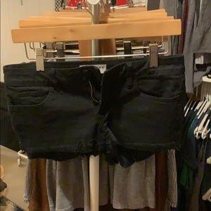 Frayed Bullhead shorts.